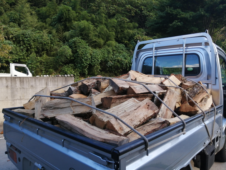 薪軽トラ1車分イメージ